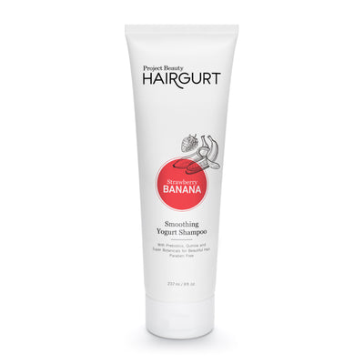 HAIRGURT STRAWBERRY-BANANA SMOOTHING YOGURT HAIR SHAMPOO