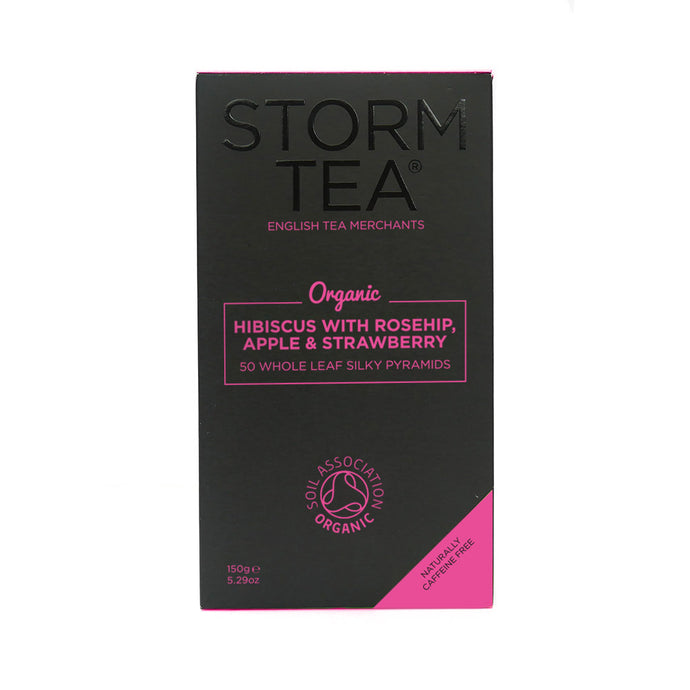 Storm Tea - Hibiscus With Rosehip, Apple & Strawberry