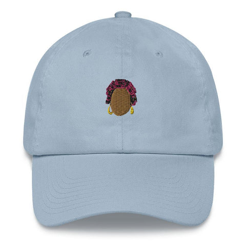 Yeaux Mama Light Blue 90s Auntie Dad Hat