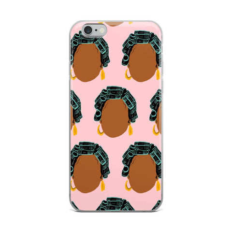 Yeaux Mama phone case 90s Auntie iPhone Case