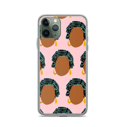 Yeaux Mama phone case iPhone 11 Pro / Hair Roller Auntie iPhone Case 90s Auntie iPhone Case