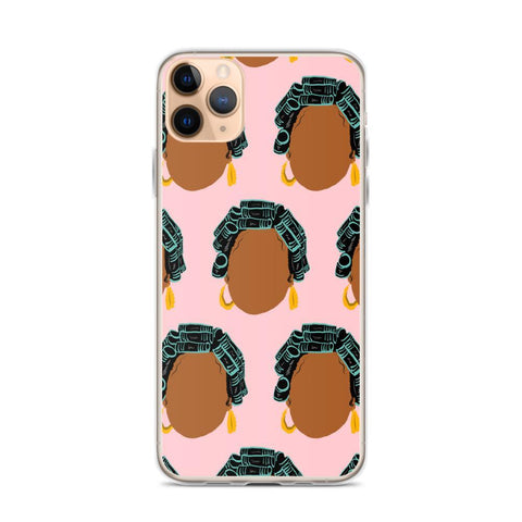 Yeaux Mama phone case iPhone 11 Pro Max / Hair Roller Auntie iPhone Case 90s Auntie iPhone Case