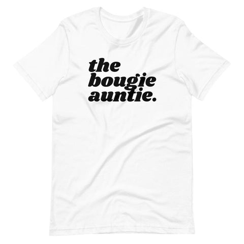 Yeaux Mama White / XS The Bougie Auntie Tee