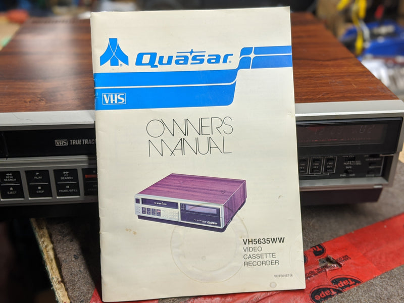 Quasar VH5635WE Video Cassette Recorder