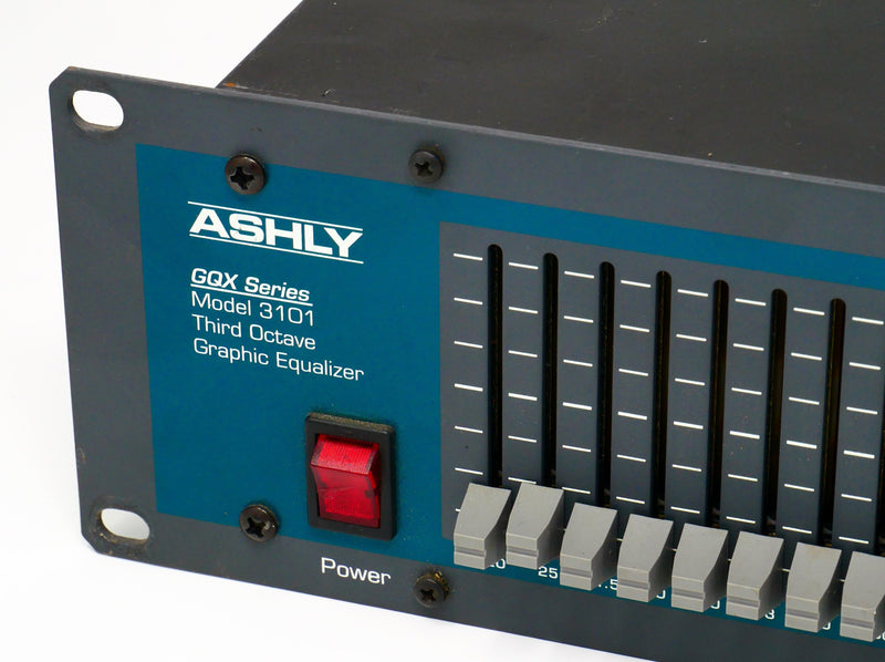 Ashly GQX 3101 1/3 Octive Graphic EQ