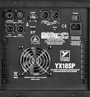 Yorkville YX 18SP Powered Subwoofer