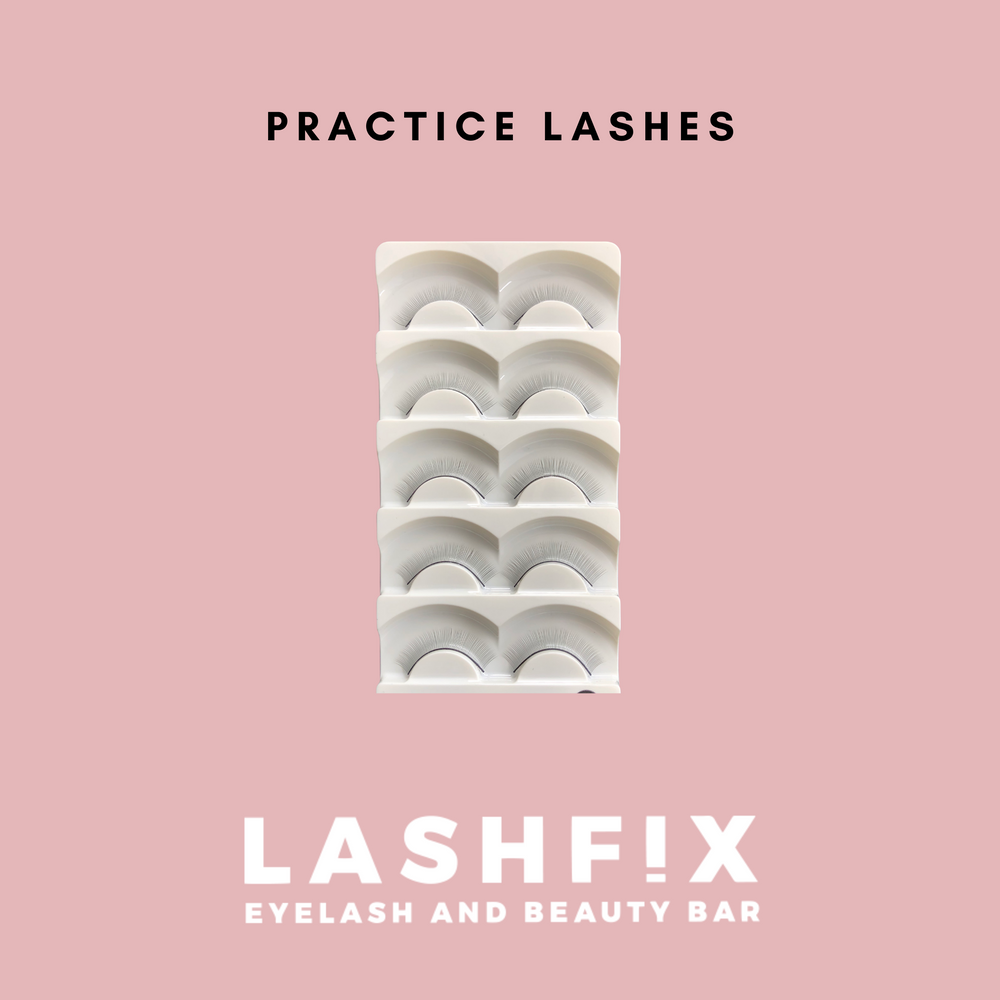 Practice lash strips - For Mannequin Head
