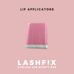 Lip applicators - perfect for cleansing lashes