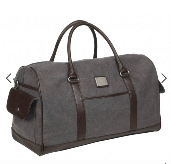 Lemieux- Luxury Canvas Duffle Bag Navy - Majesty Horse