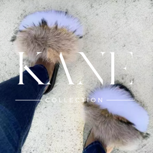 Fur Slides - Bi Color