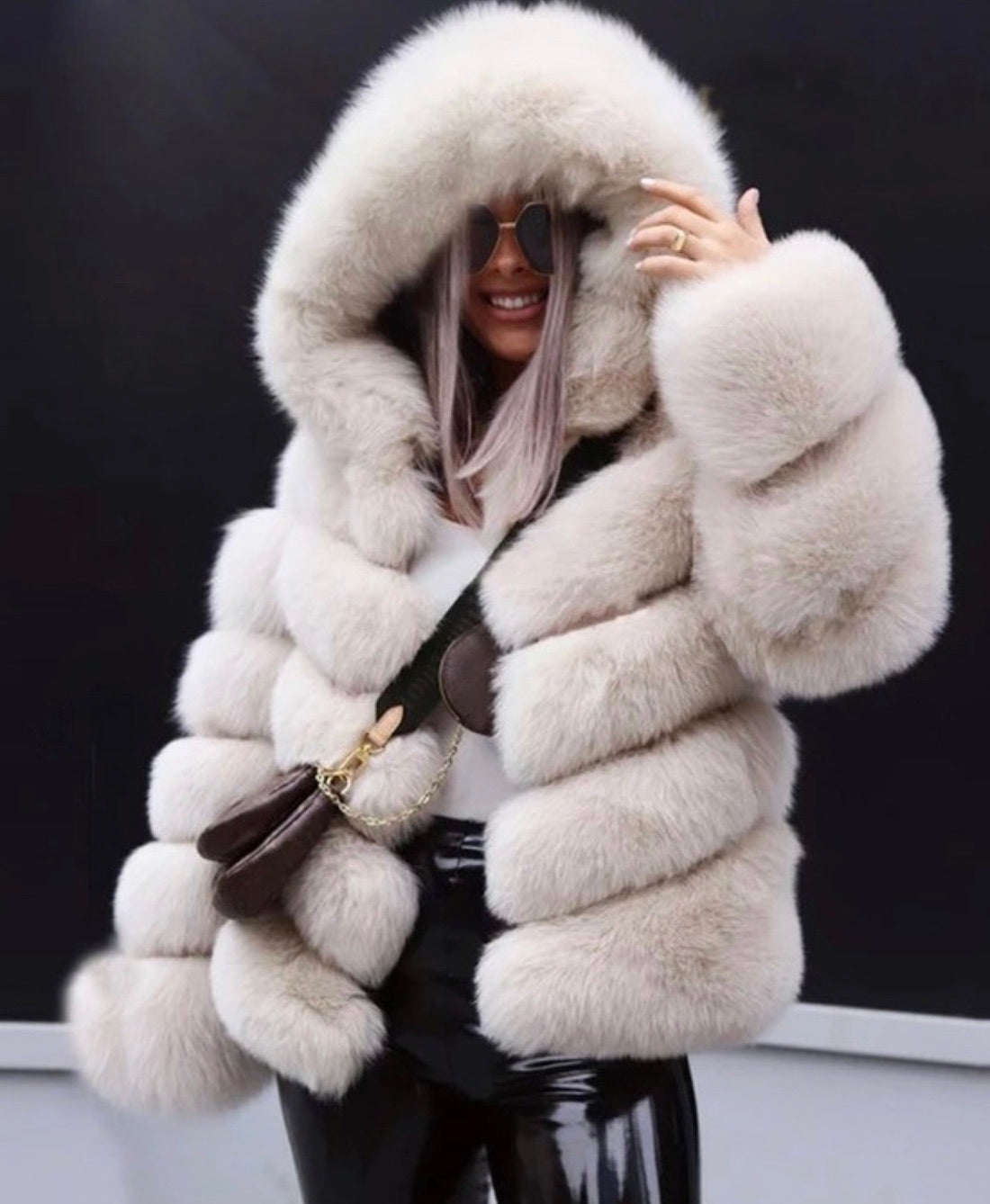Custom Coat - Fox Fur