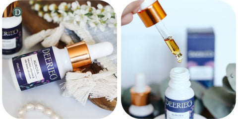 Deerieo Aurora oil serum is available in two sizes so you can test it before purchasing a full size.