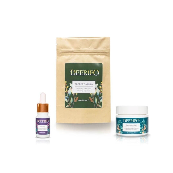 Deerieo Discovery/ Travel Set - Deerieo Natural Skincare Solutions