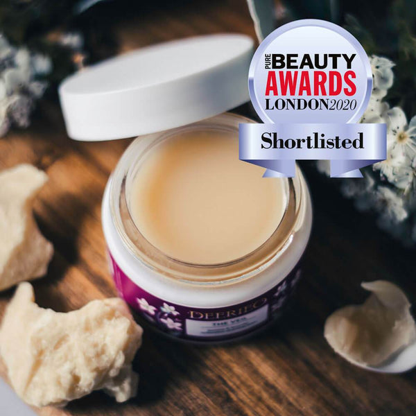 Deerieo The Veil Cleansing Balm is shortlisted for the Pure Beauty Awards London 2020 edition in Best New Sustainable Skincare Product category.