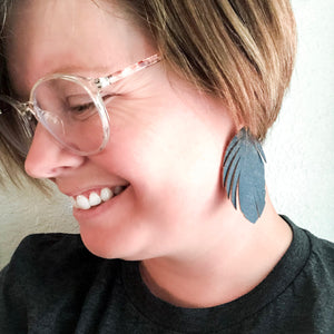 Classic Feather Earrings