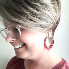 Load image into Gallery viewer, Boho Rustic Fringe Earrings WHOLESALE