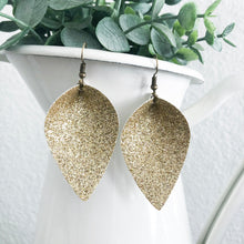 Load image into Gallery viewer, All That Glitters Petal Earrings