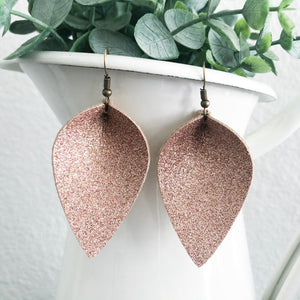 All That Glitters Petal Earrings