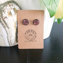 Load image into Gallery viewer, Druzy Stud Earrings WHOLESALE