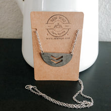 Load image into Gallery viewer, Half Moon Cutout Necklace