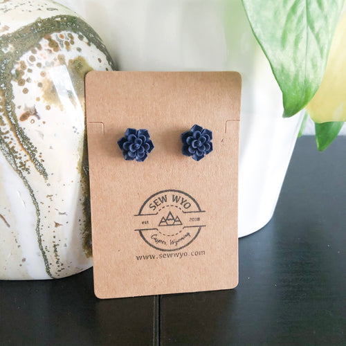 Succulent Stud Earrings WHOLESALE