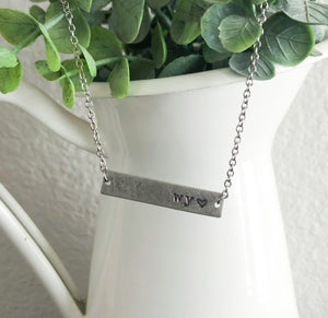 Wyoming Love Necklace