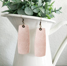 Load image into Gallery viewer, Rectangle Drop Earrings