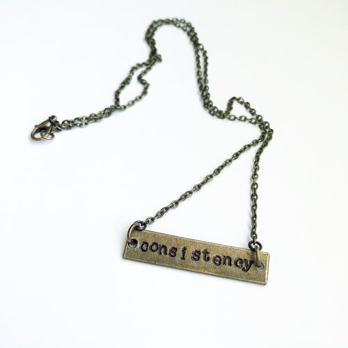 Word of the Year Custom Necklace