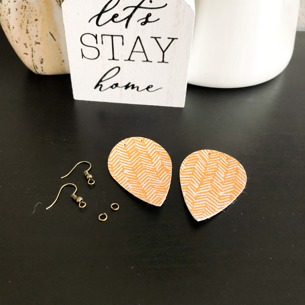 Quarantine Craft Kit - DIY Pinched Petal Earrings