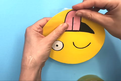 cover your squishy adhesive tape