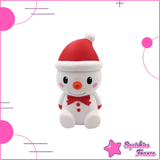 Squishy red snowman kawaii