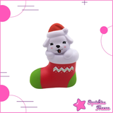 Squishy cane pantofola di natale