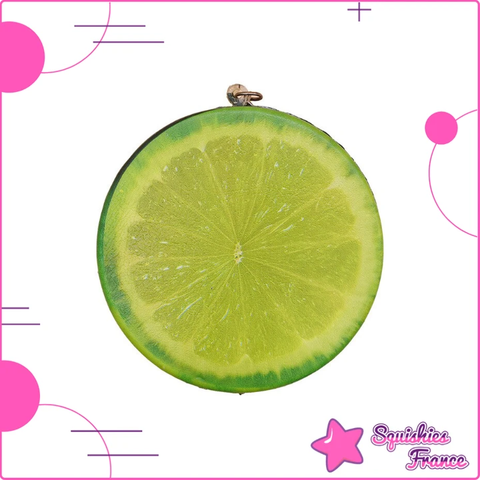 Squishy citron vert réaliste - Fruits, Nourriture - Squishies France
