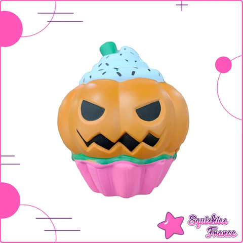 Squishy cupcake citrouille - Halloween, Nourriture - Squishies France