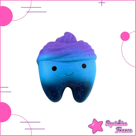 Squishy dent galaxie - Galaxie - Squishies France
