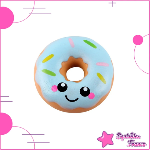 Squishy donut kawaii bleu - Kawaii, Nourriture - Squishies France