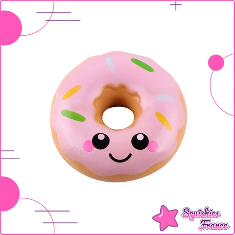 Squishy donut kawaii rose - Kawaii, Nourriture - Squishies France