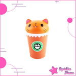 Squishy orange cat espresso