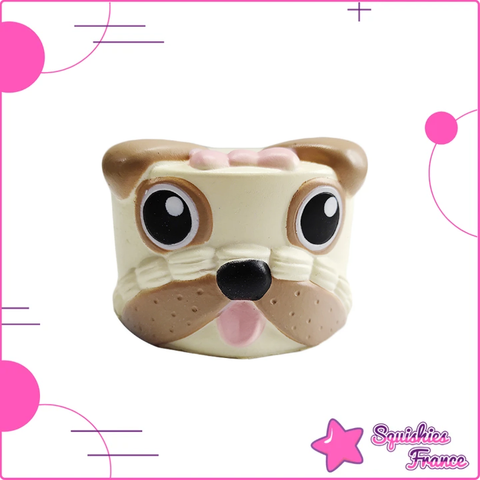 Squishy Gâteau Chien - Animaux, Nourriture - Squishies France