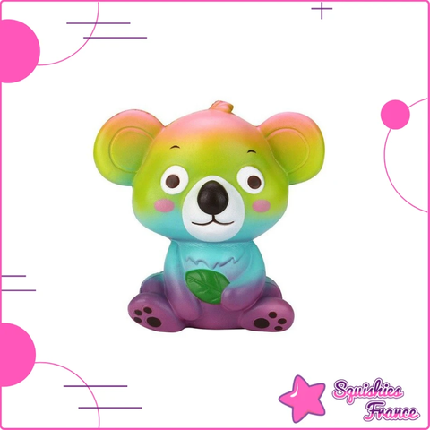 Squishy Koala Arc-en-ciel - Animaux, Arc-en-ciel - Squishies France
