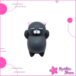 Mini Squishy gatto nero