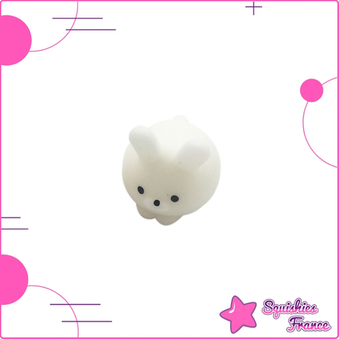 Mini Squishy lapin blanc