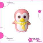 Squishy petit pingouin rose