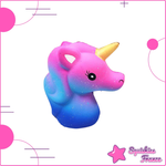 Squishy galaxy unicorn head
