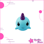 Squishy Baleine Bleue - Animaux, Pas cher - Squishies France
