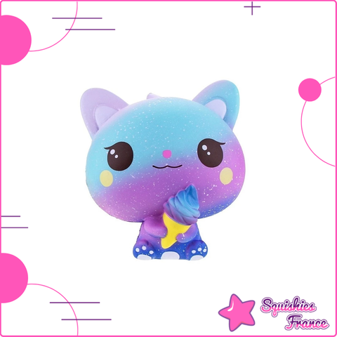 Squishy Chaton Galaxie - Animaux, Galaxie, Kawaii - Squishies France