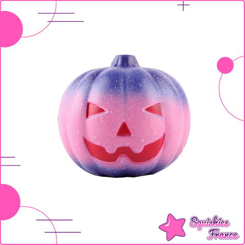 Squishy Citrouille Galaxie - Collector - Galaxie, Halloween - Squishies France