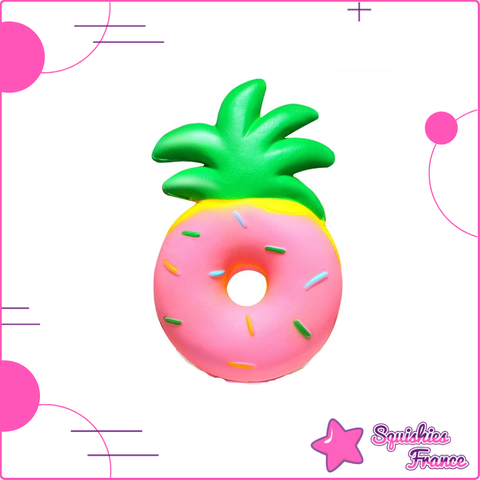 Squishy donut ananas - Nourriture - Squishies France