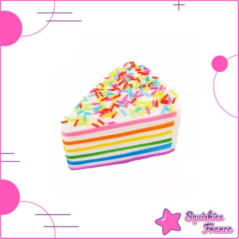Squishy Gâteau Multicolore - Nourriture - Squishies France
