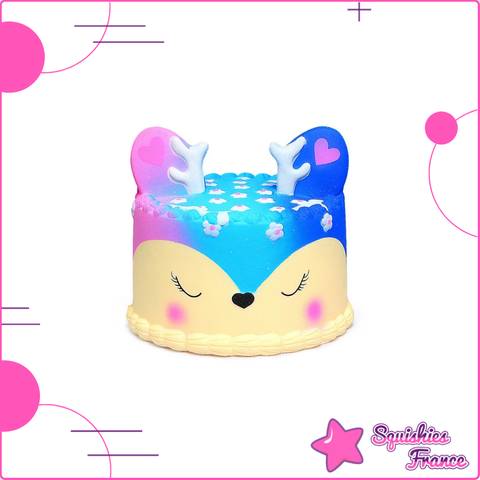Squishy Gâteau Renne Galaxie - Squishies France